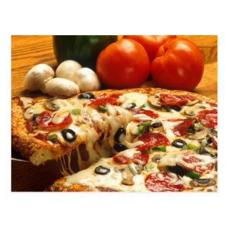 Pizza Tarjetas Postales