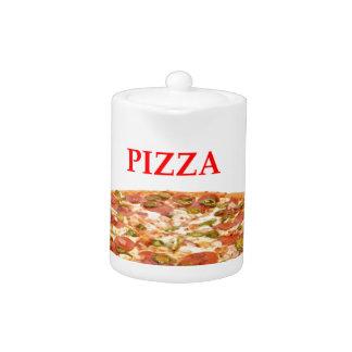 PIZZA TEAPOT
