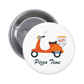 Pizza Time 2 Inch Round Button