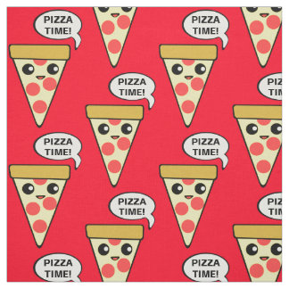 Pizza Time Fabric