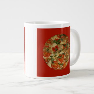 Pizza Time - Let's Order a Pizza! 20 Oz Large Ceramic Coffee Mug