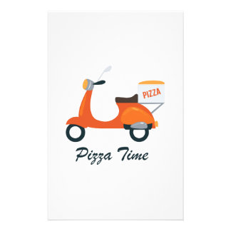 Pizza Time Stationery