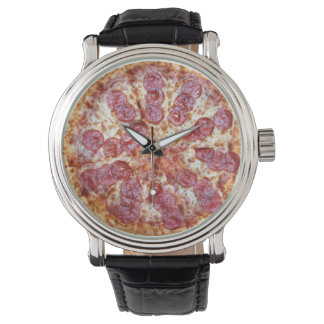 Pizza time timepiece watches