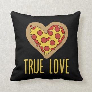 Pizza true love Valentine Throw Pillow