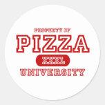 Pizza University Sticker