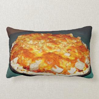 pizza vegetariana con las habas pedazos del nutol cojines