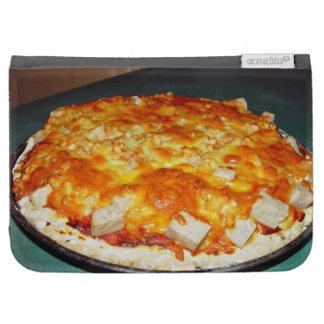 pizza vegetariana con las habas, pedazos del nutol