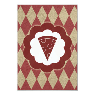 pizza vintage card