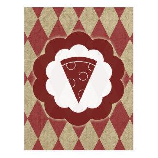 pizza vintage postcard