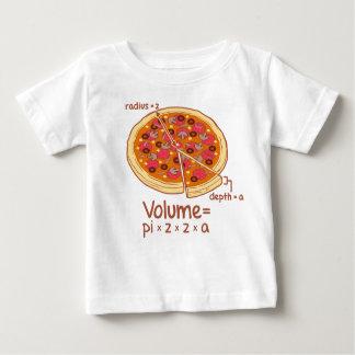 Pizza Volume Mathematical Formula = Pi*z*z*a Baby T-Shirt