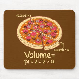 Pizza Volume Mathematical Formula = Pi*z*z*a Mouse Pad