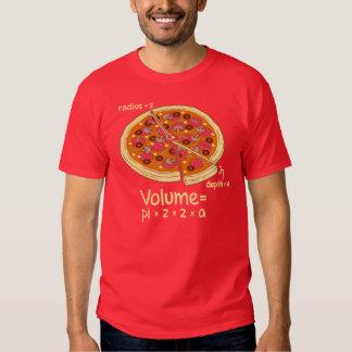 Pizza Volume Mathematical Formula = Pi*z*z*a Shirt