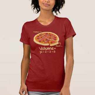 Pizza Volume Mathematical Formula = Pi*z*z*a T-shirt