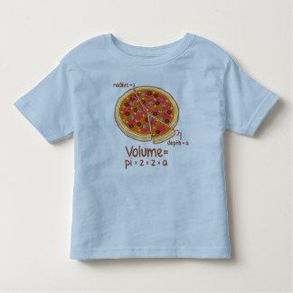 Pizza Volume Mathematical Formula = Pi*z*z*a Tee Shirt
