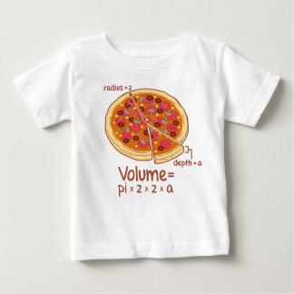 Pizza Volume Mathematical Formula = Pi*z*z*a Tees