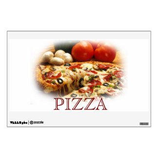 PIZZA window or wall decal