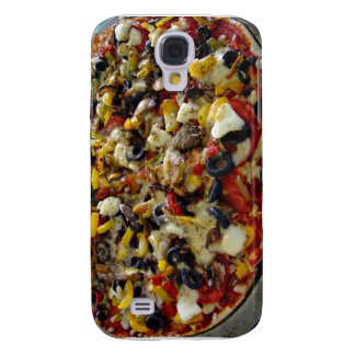 Pizza with feta olives capsicum samsung galaxy s4 cases