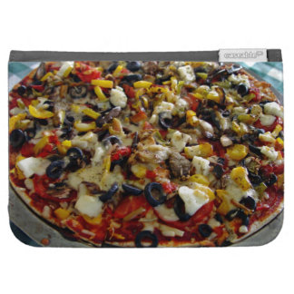 Pizza with feta olives capsicum cases for the kindle