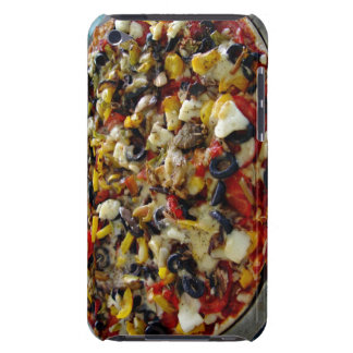 Pizza with feta olives capsicum iPod Case-Mate cases