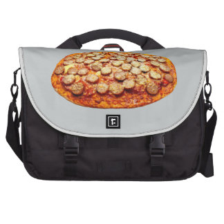 Pizza With Pepperoni and Sausage Computer Bag