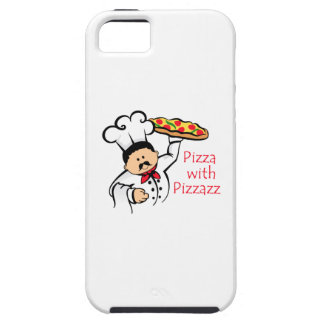 PIZZA WITH PIZZAZZ iPhone 5 COVERS