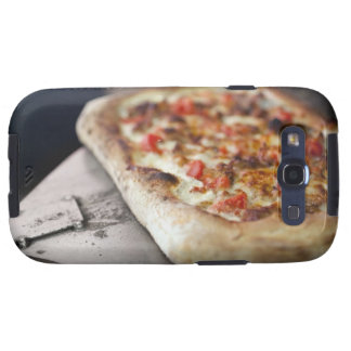 Pizza with tomatoes, garlic and meat substitute samsung galaxy s3 cases