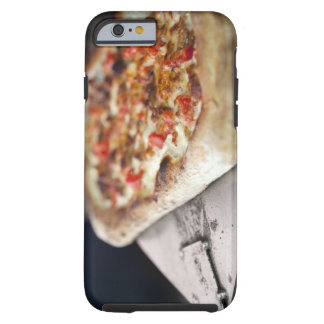 Pizza with tomatoes, garlic and meat substitute tough iPhone 6 case