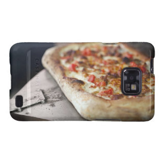 Pizza with tomatoes, garlic and meat substitute samsung galaxy s2 case