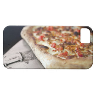 Pizza with tomatoes, garlic and meat substitute iPhone 5 cases