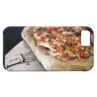 Pizza with tomatoes, garlic and meat substitute iPhone 5 cover