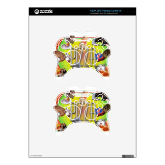 PIZZA XBOX 360 CONTROLLER DECAL