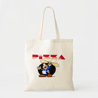 Pizza y panadero bolsa tela barata