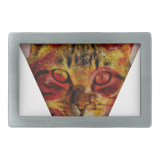 PizzaCat Slice Rectangular Belt Buckle
