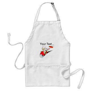 Pizzaiolo and Pizza Adult Apron
