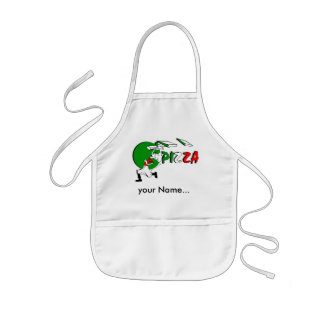 Pizzaiolo and Pizza Kids' Apron