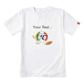 Pizzaiolo and Pizza Zazzle HEART T-Shirt