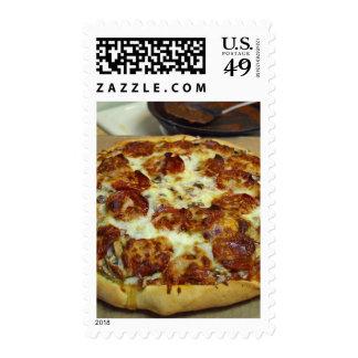 Pizzas de salchichones sellos
