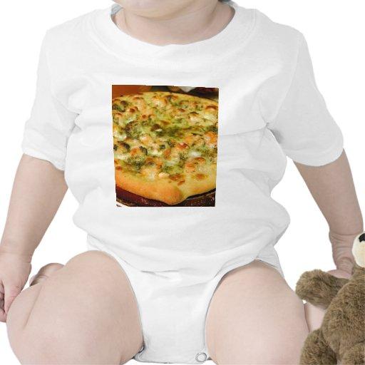 Pizzas Food Cheeses Shrimp Pesto Romper