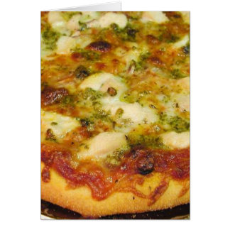 Pizzas Food Cooking Chicken Card