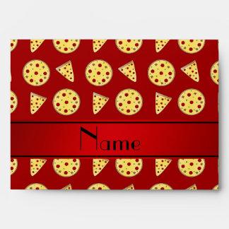 Pizzas rojas conocidas personalizadas