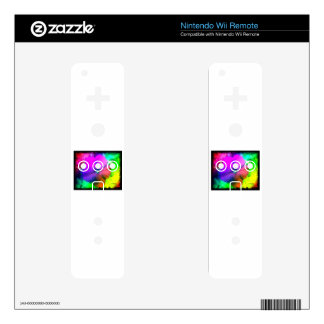 Pizzazz Nintendo Wii Remote Decal