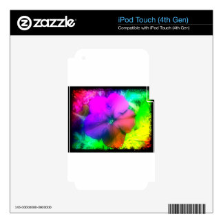 Pizzazz iPod Touch 4G Skin
