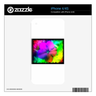 Pizzazz Decal For iPhone 4S