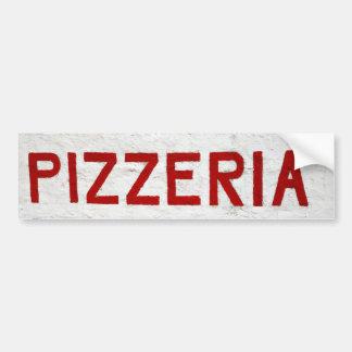 Pizzeria Bumper Sticker