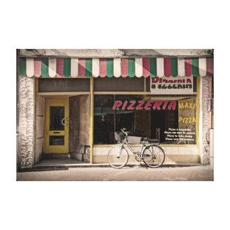 Pizzeria Canvas Print
