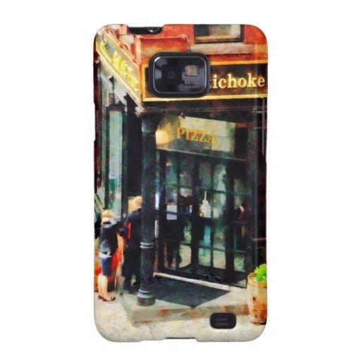 Pizzería de Nueva York Samsung Galaxy S2 Carcasa