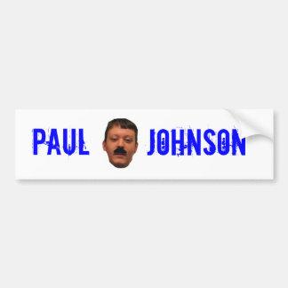 PJ Bumper Sticker