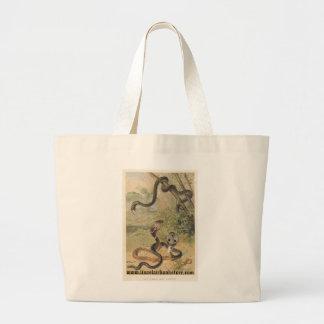 PJ Smith - Rat-Snake & Cobras Jumbo Tote Bag