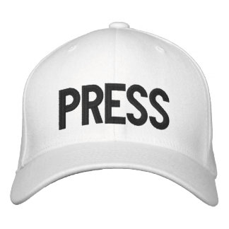 PJ's PRESS - Embroidered Hat