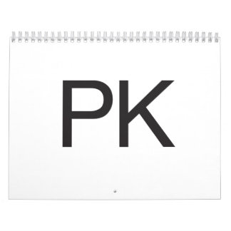 PK WALL CALENDAR